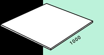 Квадратная форма 1000 на 1000