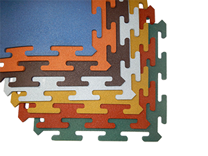 Резиновое покрытие Rubblex